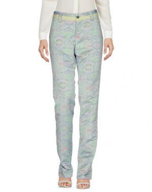 Повседневные брюки NICHOL JUDD. Цвет: пастельно-синий