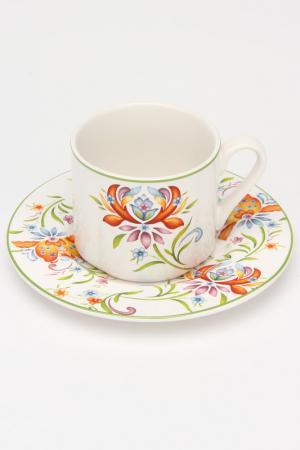 Чашка с блюдцем Аквитания IMARI. Цвет: мультицвет
