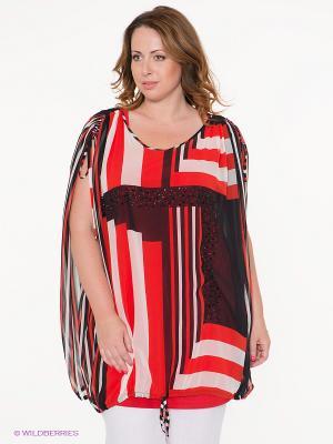 Комплект одежды VERDA. Цвет: красный, темно-синий, молочный