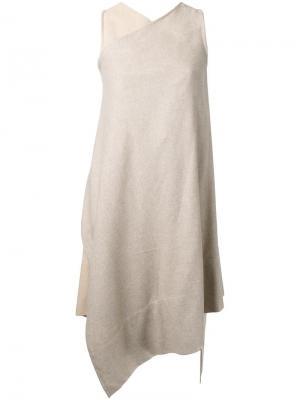 Платье Pure Japanese Nehera. Цвет: коричневый