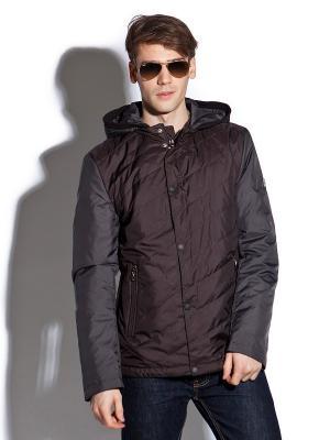 Куртка Clasna. Цвет: коричневый