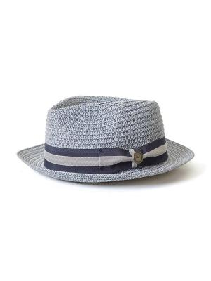 Шляпа Goorin Brothers. Цвет: голубой