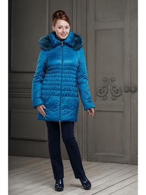 Куртка DIDILIYA. Цвет: лазурный
