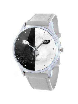 Дизайнерские часы Cats Tina Bolotina. Цвет: черный, белый