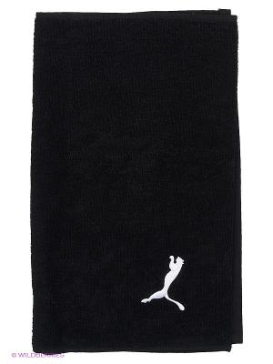 Полотенце Training Towel Puma. Цвет: черный