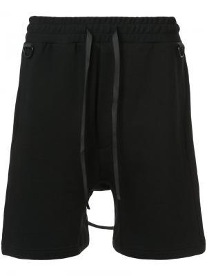 Спортивные шорты D.Gnak. Цвет: чёрный
