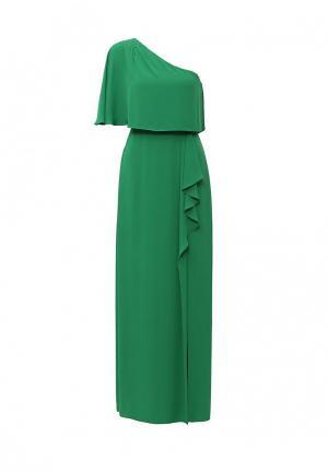 Платье BCBGMAXAZRIA. Цвет: зеленый