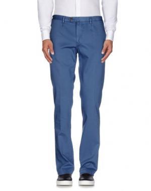 Повседневные брюки EREDI RIDELLI. Цвет: пастельно-синий