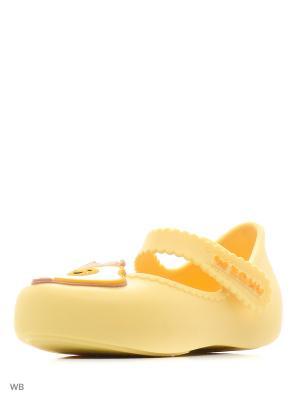 Туфли ZAXY. Цвет: желтый