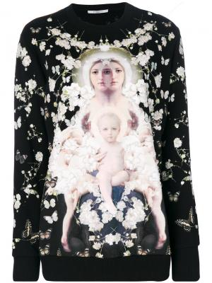 Толстовка Iconic Givenchy. Цвет: чёрный