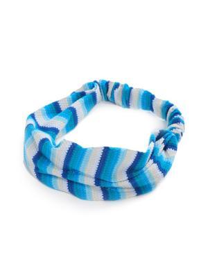 Косынкаморе DAVANA. Цвет: синий, белый, голубой
