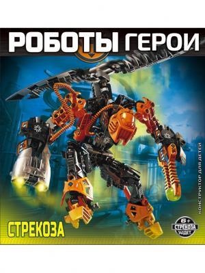 Конструктор RoboBlock Робот Герой оранжевый XL Склад Уникальных Товаров. Цвет: оранжевый