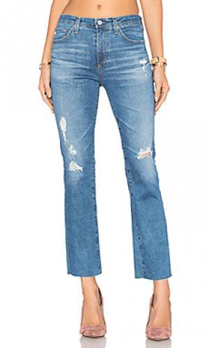 Укороченные джинсы jodi AG Adriano Goldschmied. Цвет: none