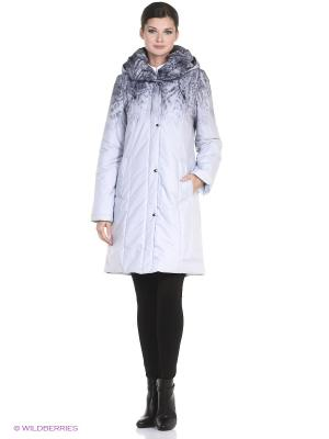Пальто CINDARELLA Maritta. Цвет: светло-серый