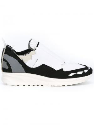 Кроссовки для бега Retro Maison Margiela. Цвет: чёрный