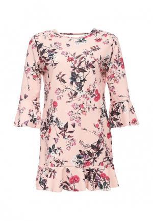 Платье Sense. Цвет: розовый