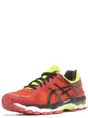 Спортивная обувь GEL-KAYANO 22 ASICS. Цвет: красный, желтый, черный
