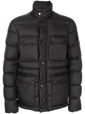 Padded coat Peuterey. Цвет: чёрный