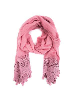 Палантины Lisette. Цвет: розовый
