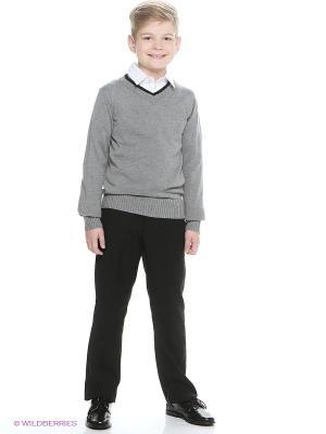 Пуловер Button Blue. Цвет: серый