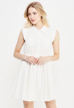 Платье Lusio. Цвет: белый