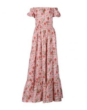 Длинное платье ALEXANDER TEREKHOV. Цвет: розовый