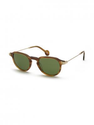 Солнцезащитные очки HS 533S 06 HALLY & SON. Цвет: коричневый