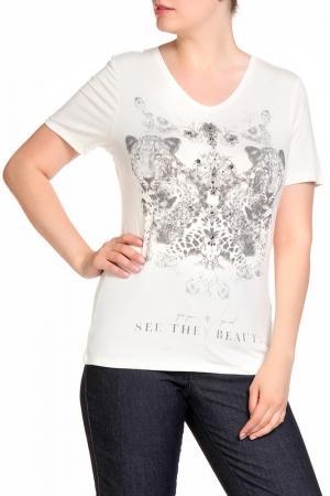 Блуза RITA PFEFFINGER. Цвет: бежевый