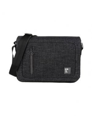 Деловые сумки NAVA. Цвет: свинцово-серый