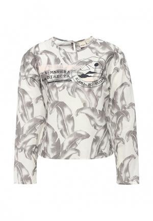 Блуза Roxy. Цвет: серый
