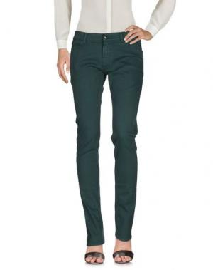 Повседневные брюки G750G. Цвет: зеленый