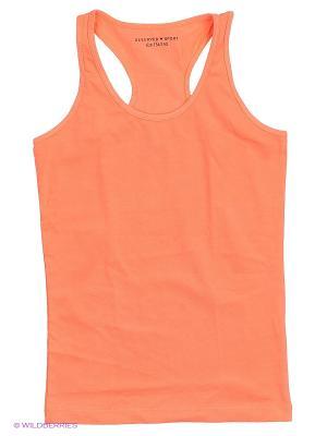 Майка Reserved. Цвет: оранжевый