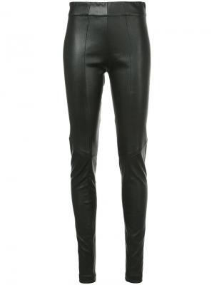 Skinny trousers Zero + Maria Cornejo. Цвет: чёрный