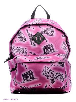 Рюкзак UNION. Цвет: малиновый