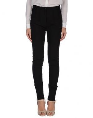 Повседневные брюки UNIQUE. Цвет: черный