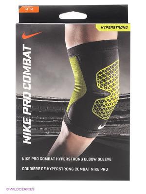 Бандаж для локтя Nike. Цвет: черный