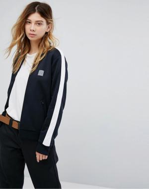 Carhartt Спортивная куртка на молнии с полосками Cahartt WIP Beta. Цвет: черный