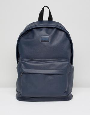 Peter Werth Темно-синий рюкзак. Цвет: синий