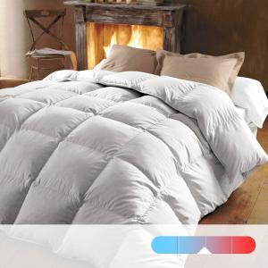Одеяло натуральное, 320 г/м², 70% пуха, обработка против клещей REVERIE BEST. Цвет: белый