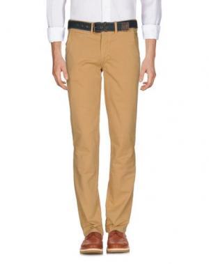 Повседневные брюки JAGGY. Цвет: песочный