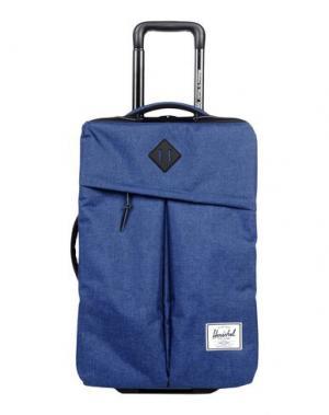 Чемодан/сумка на колесиках HERSCHEL SUPPLY CO.. Цвет: синий