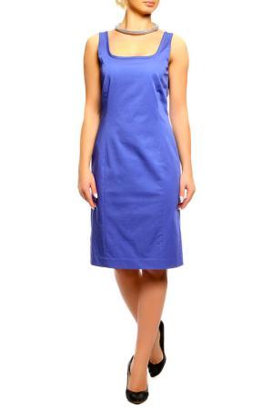 Платье SEVENTY. Цвет: синий