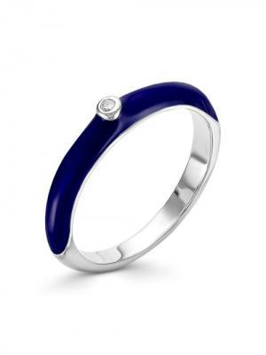Кольцо Серебро России. Цвет: серебристый
