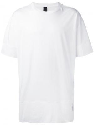 Футболка Fold Odeur. Цвет: белый