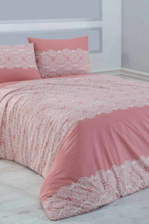 Double Quilt Cover Set Marie claire. Цвет: pink, white