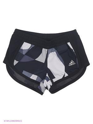 Шорты Yg T M Short Adidas. Цвет: черный, белый