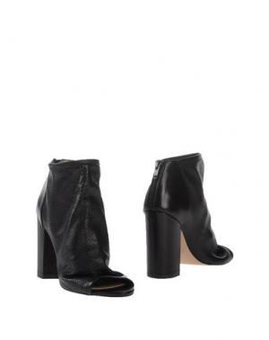 Полусапоги и высокие ботинки HOBBS. Цвет: черный