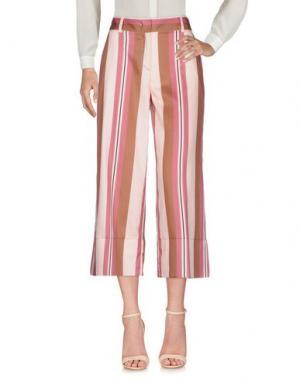 Повседневные брюки FABRIZIO LENZI. Цвет: светло-розовый