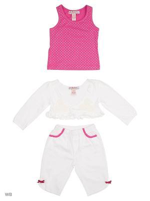 Комплект нательный для малыша ВАЛЕНТИНА СТИЛЬ. Цвет: розовый