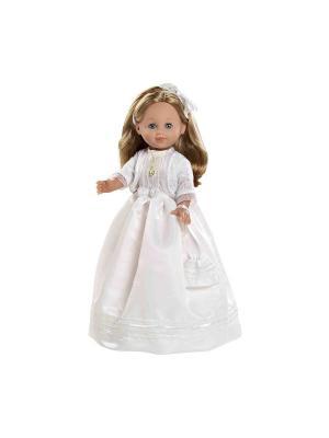 Кукла Arias RUBIA в белом платье, 42 см Arias.. Цвет: белый